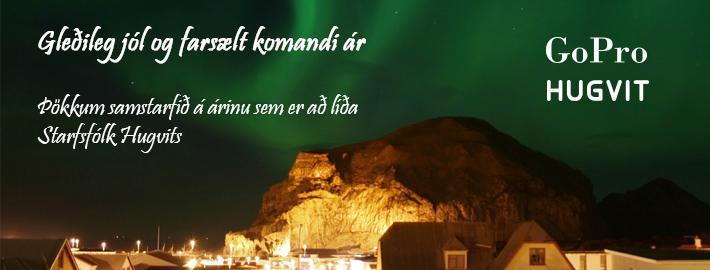 Gleðilega hátíð frá GoPro og Hugviti