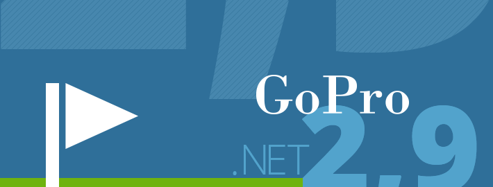 GoPro fyrir .NET 2.9